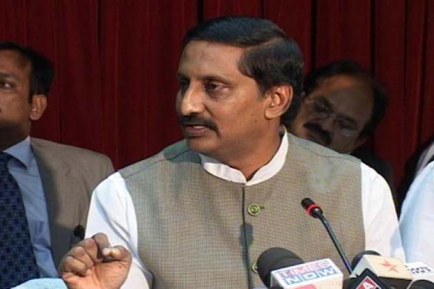 Telangana issue: 'AP CM not in favour of division of the state'