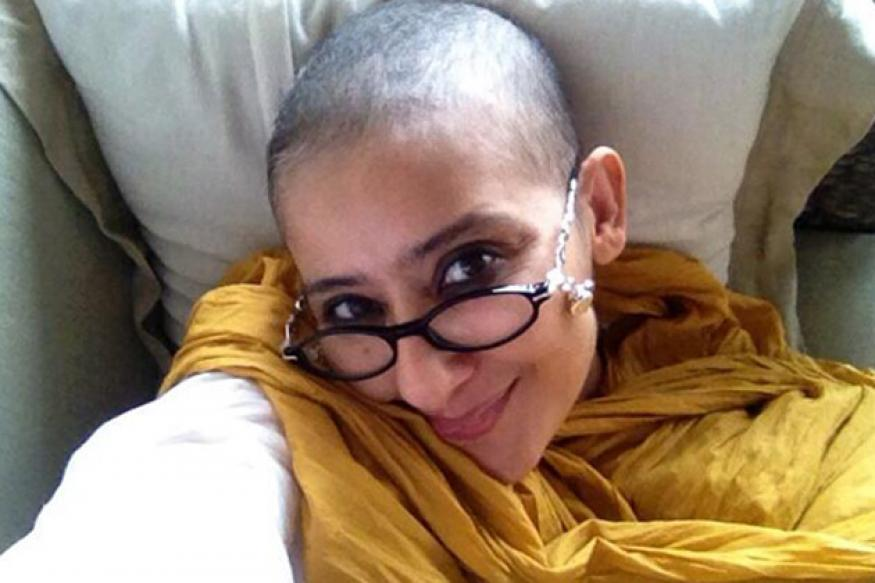 Bald and beautiful! Cancer-free Manisha Koirala tweets new pictures