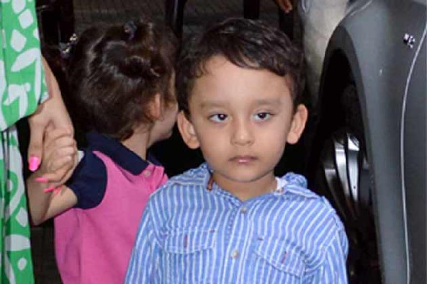 Sanjay Dutt's twins watch 'Policegiri' with their mom Manyata