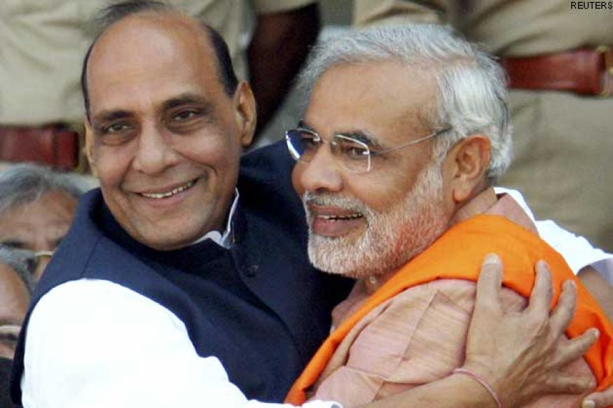 Modi to share key LS poll management tasks with Rajnath