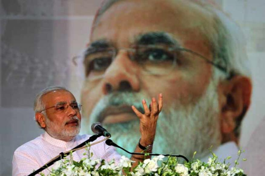 Nation's priority is skill development, Food Security can't feed India: Modi