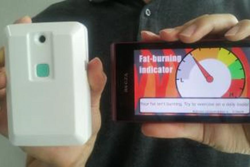 New pocket-sized device tells how much fat you burn
