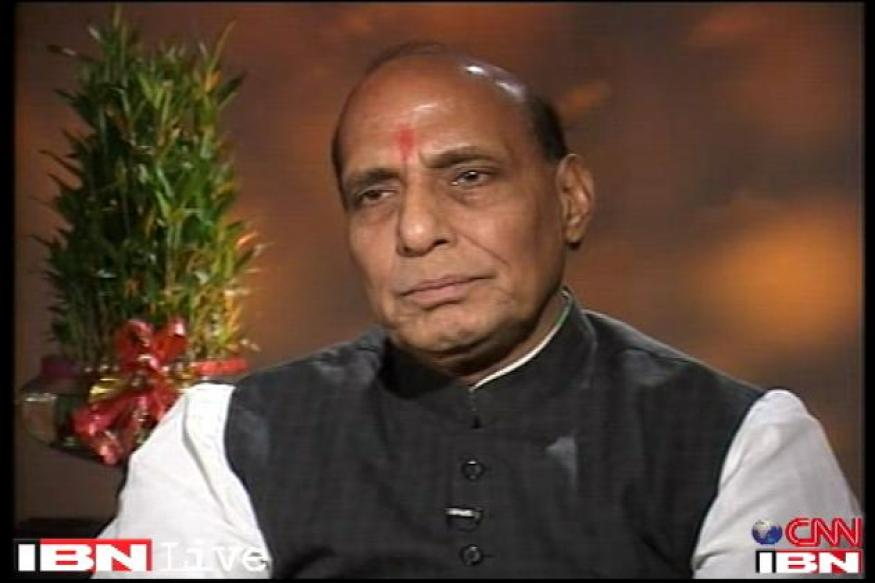 Rajnath dares Congress to declare its PM candidate