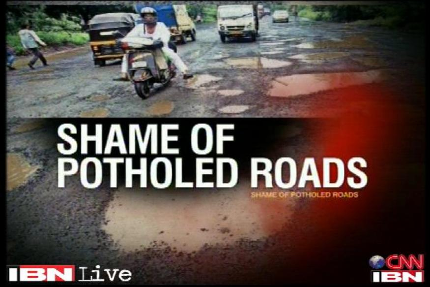 Potholed India makes life miserable in cities