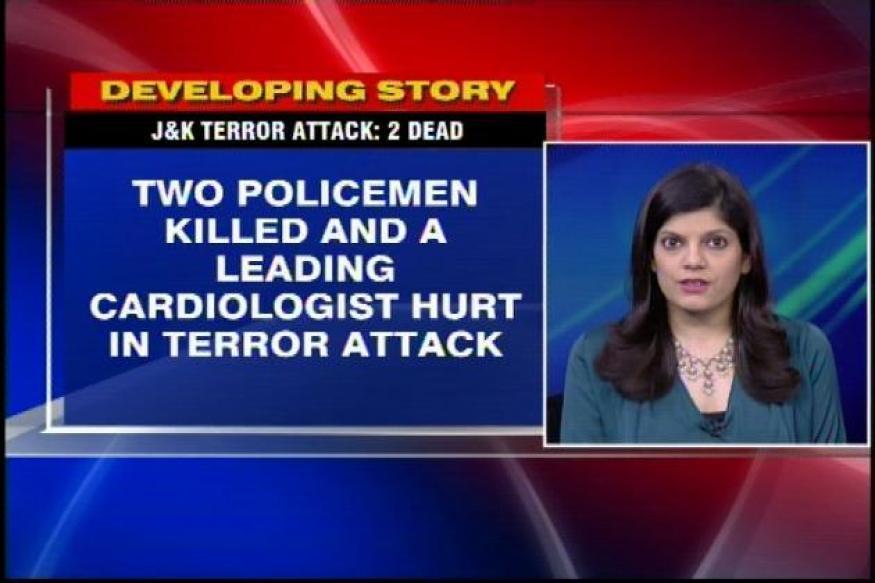 J&K: Cardiologist injured, 2 policemen killed in terror attack