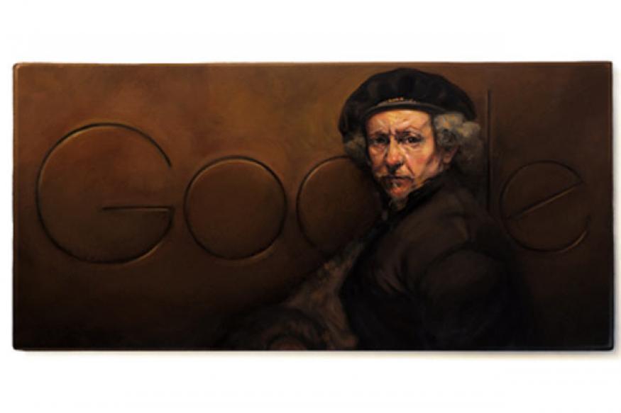Rembrandt van Rijn: Google doodles a portrait on his 407th birthday