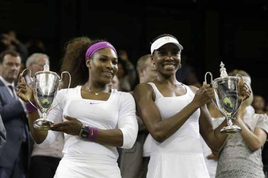 Williams sisters among five past champs in US Open