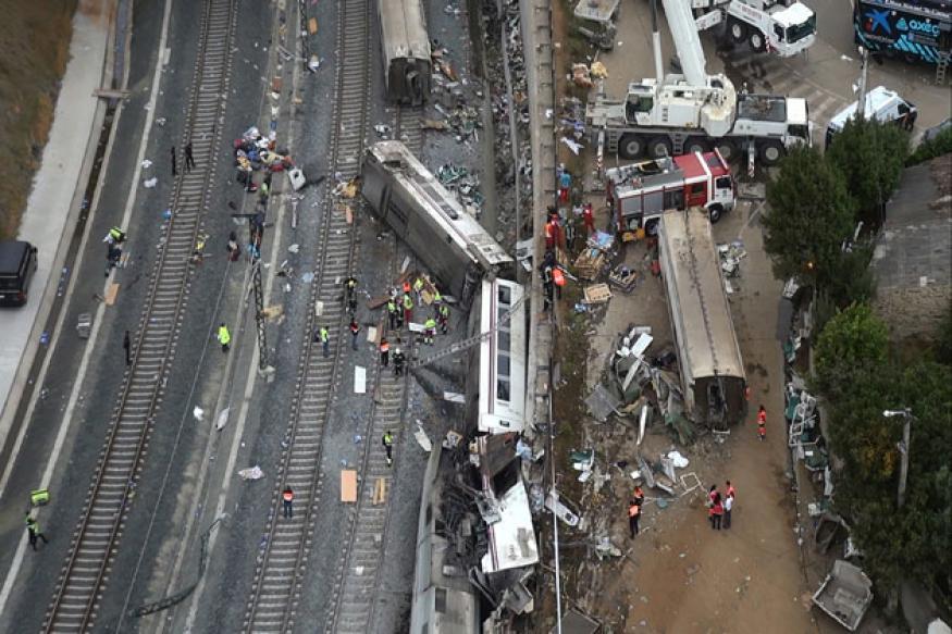 Spain train crash: Probe of deadly derailment focuses on train speed