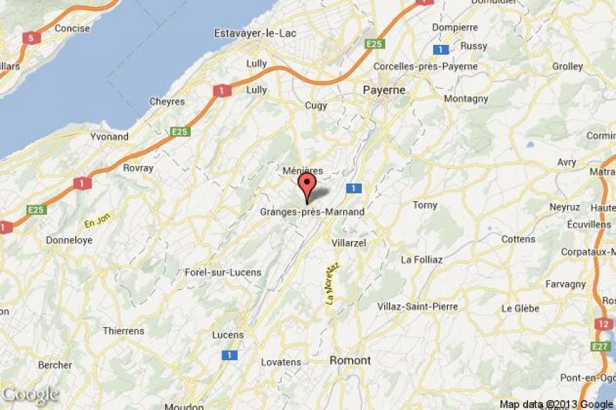 Train crash in western Switzerland kills driver, injures 35 passengers