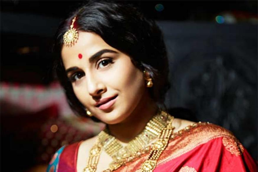 Vidya Balan brings back the old world charm in a new photoshoot