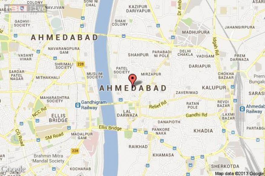 Ahmedabad: Chopper crash lands, 2 injured