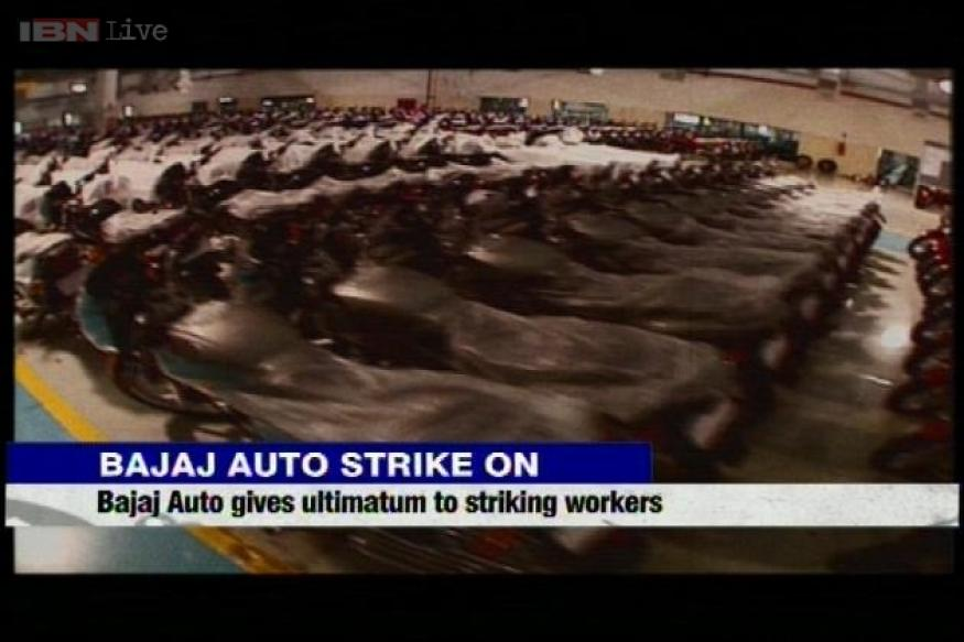 Bajaj Auto gives ultimatum to employees to end strike in 1 week
