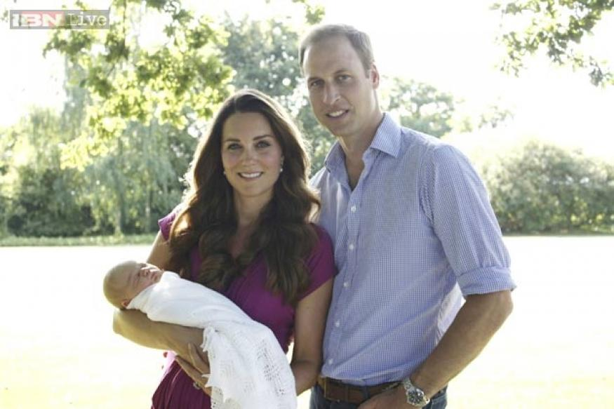 """Prince William calls his son """"a little bit of a rascal"""""""