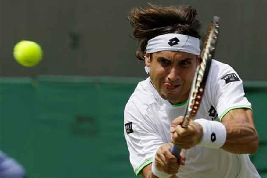 David Ferrer battles past Ryan Harrison in Cincinnati