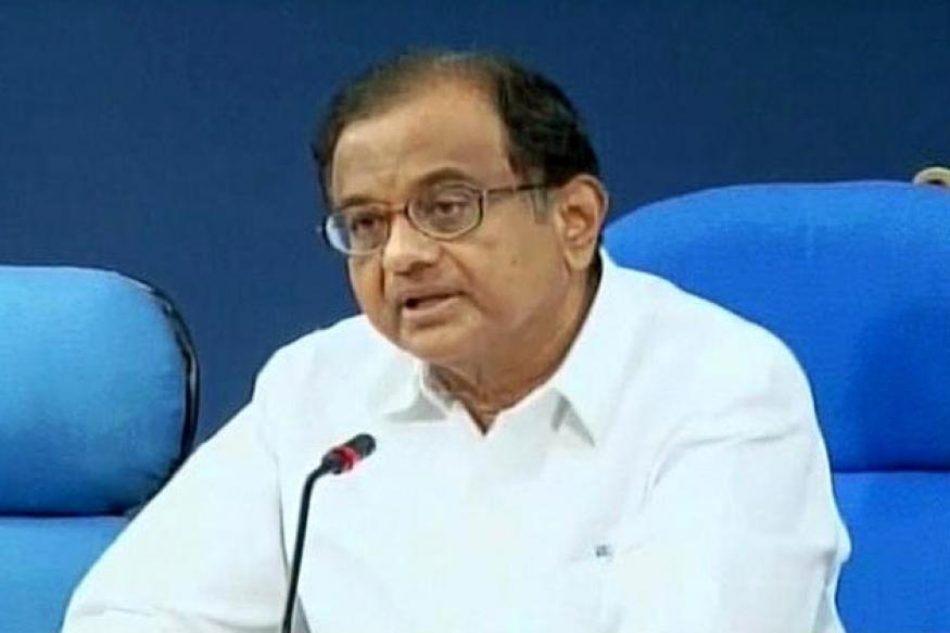 Chidambaram calls for calm as Sensex crashes four per cent