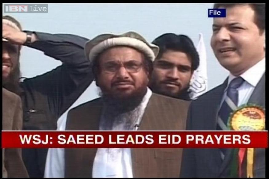 26/11 mastermind Hafiz Saeed leads Eid prayers in Lahore