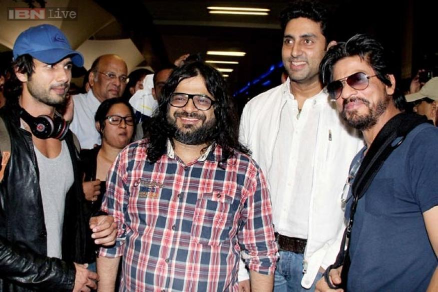 Happy New Year: Abhishek, Shah Rukh reunite after seven years