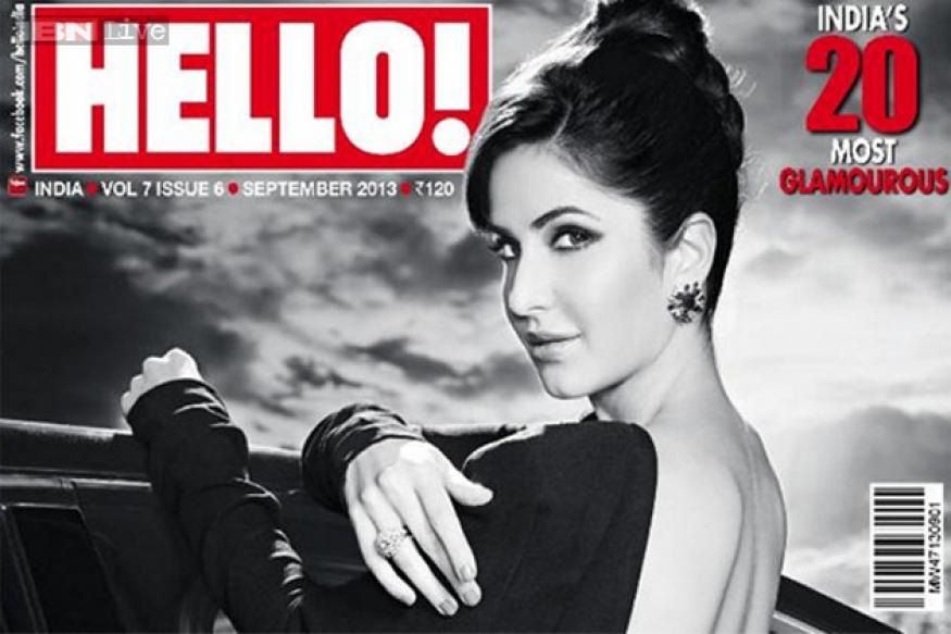 Is it Katrina Kaif or Audrey Hepburn on the cover of 'Hello' magazine?