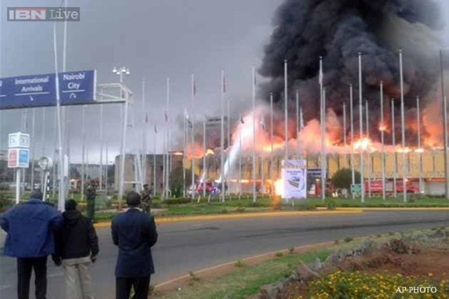 Fire closes Kenya's international airport in Nairobi