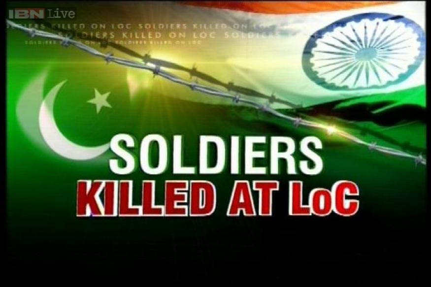 Oppn asks UPA to act tough against Pakistan for killing 5 soldiers