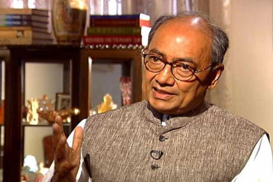 Narendra Modi following Hitler's tactics to grab power: Digvijaya Singh