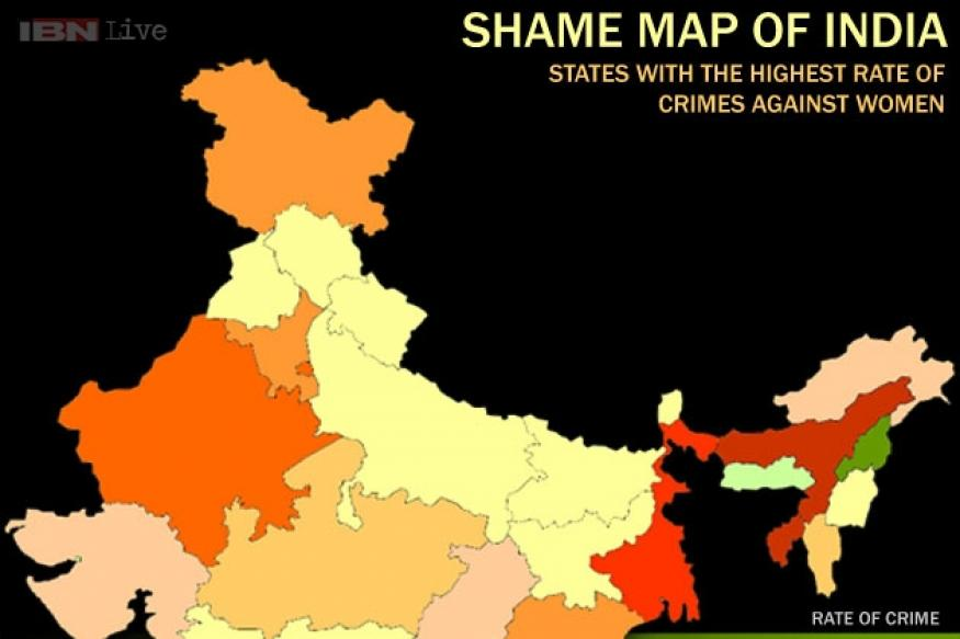 Shame map of India: States with highest rate of crimes against women