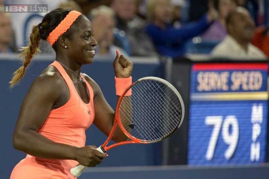Stephens makes giant kill in Cincinnati, ousts Sharapova