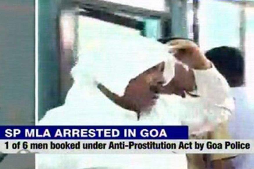SP MLA arrested in Goa dance bar raid complains of 'chest pain', admitted to hospital