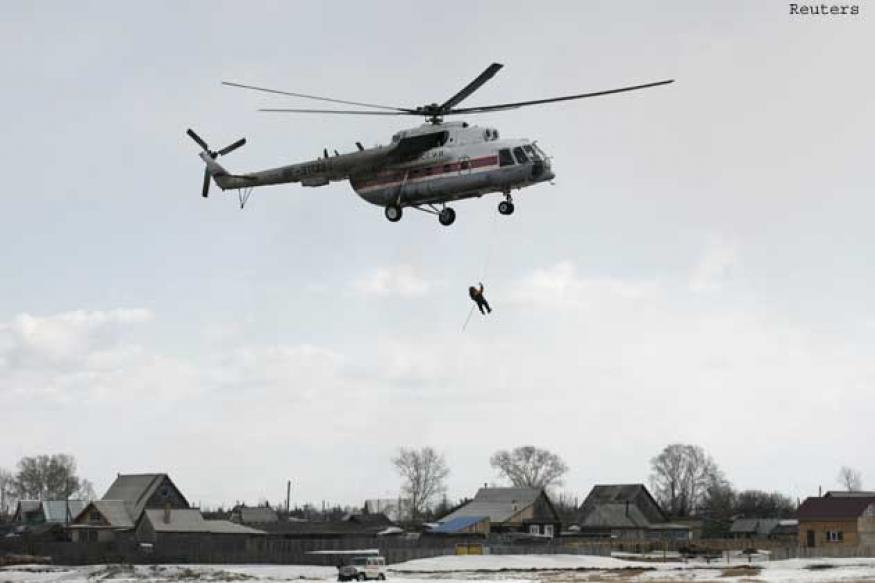 Up to 100,000 face evacuation in Russia's flood-hit far east