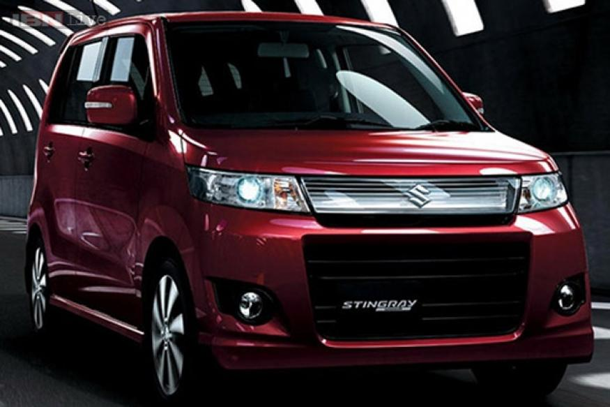 New 2013 Maruti Suzuki WagonR Stingray Indian launch imminent