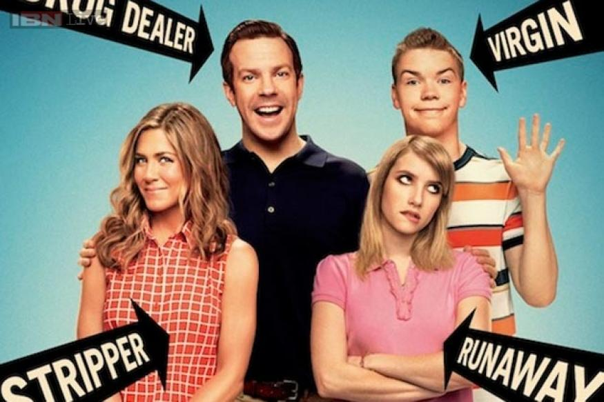 'We're The Millers' review: It's a crude road-trip comedy
