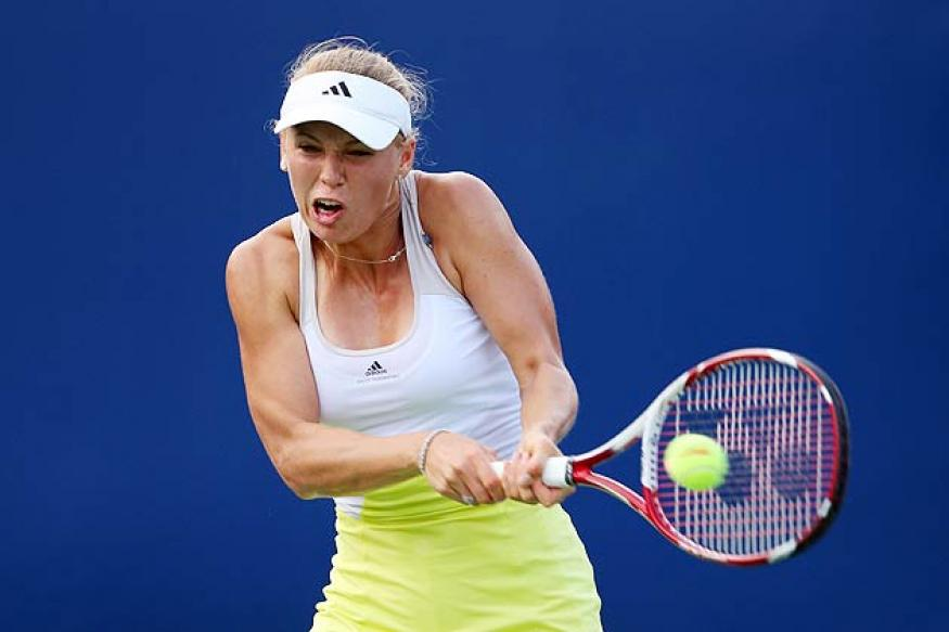 Wozniacki, Stephens reach second round at New Haven