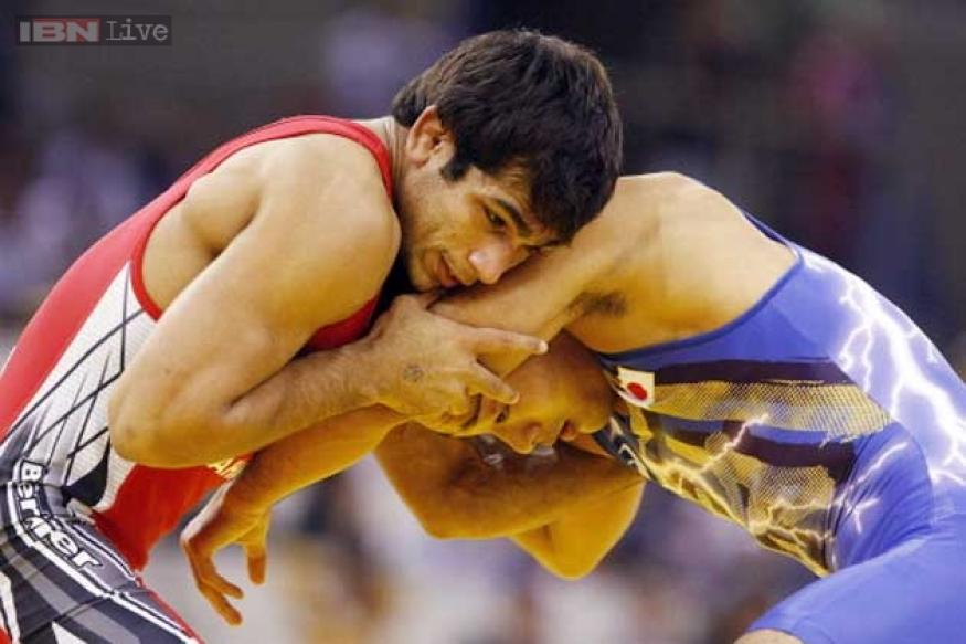 Amit Kumar wins silver at World Wrestling Championships