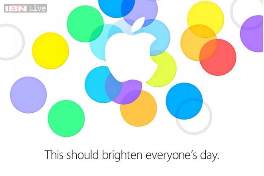 Apple's September 10 event invitation hints at new iPhone colours