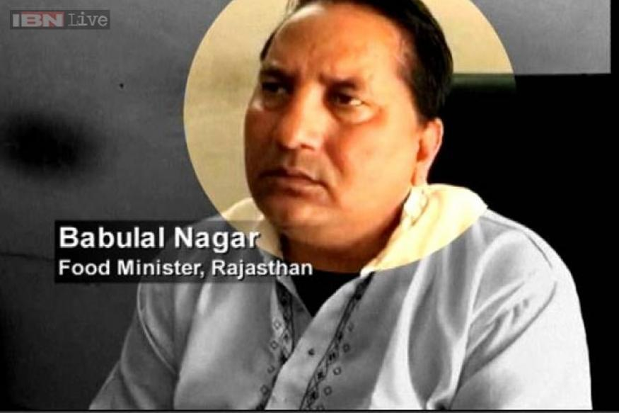 Rajasthan's ex-minister Babulal Nagar's aide caught on camera offering bribe to rape victim