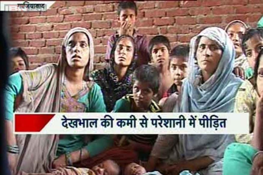 Muzaffarnagar riots: 13 children born in camp without any medical help