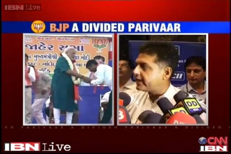 Cong hits out at BJP after it announced Modi as party's PM candidate