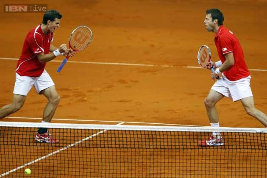 Canada win epic doubles to take 2-1 lead over Serbia