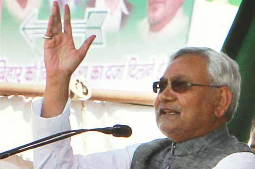 Decision on 2014 polls tie-up after October: Nitish Kumar