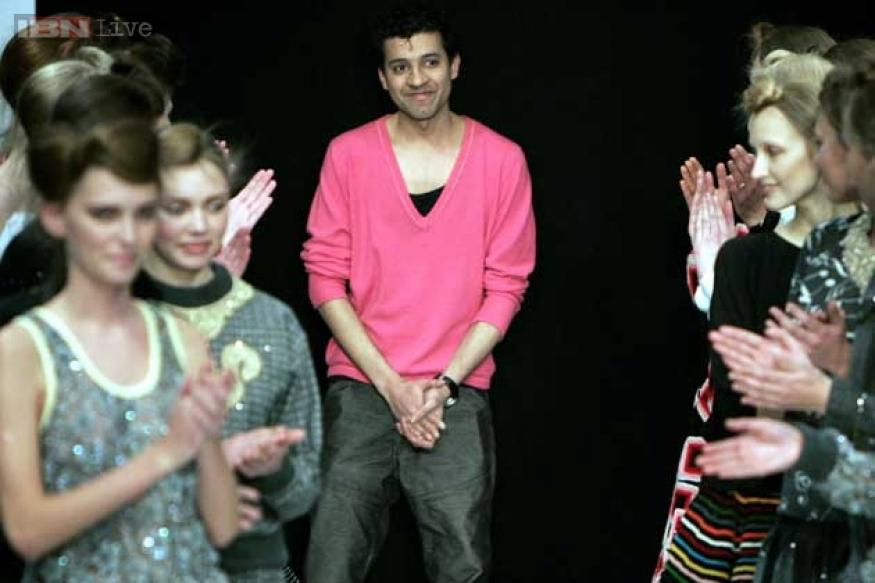 Delhi-born designer Ashish brings urban bling to London Fashion Week