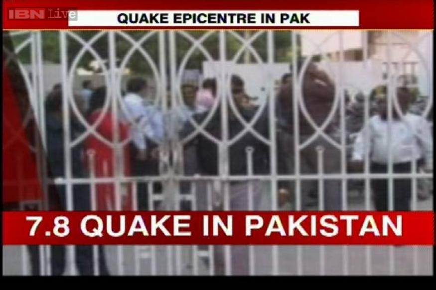 Strong quake strikes western Pakistan, no casualties reported