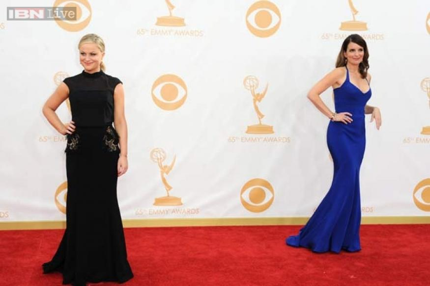 65th Emmy Awards: Runway trends arrive spotted on the red carpet