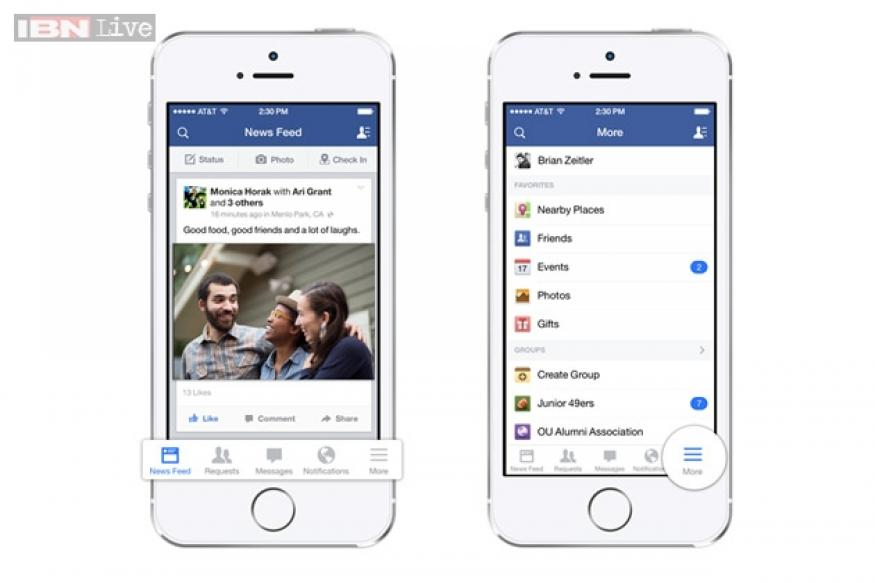 Facebook updates iOS app in sync with iOS 7 rollout