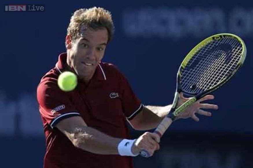 Gasquet upsets Ferrer to reach US Open semi-finals