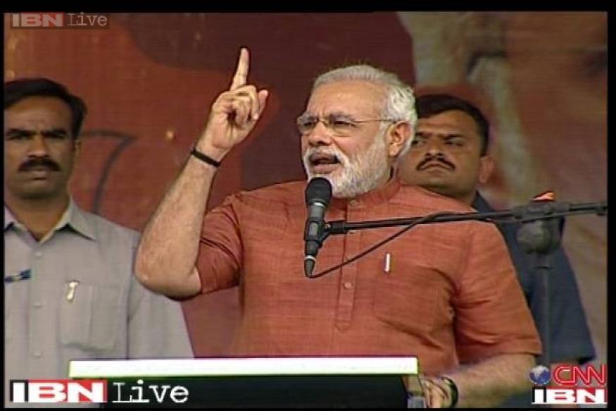 Modi urges PM, celebrities to encourage voter registration