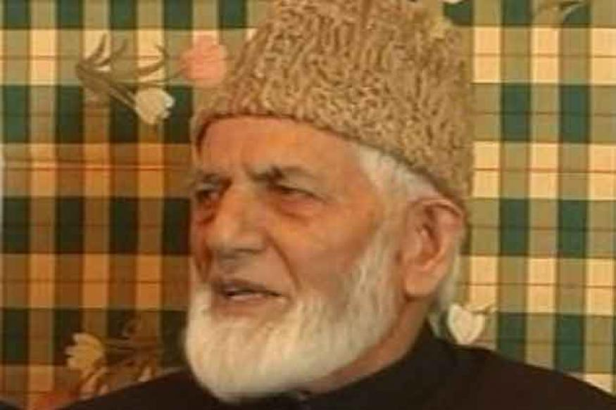 J&K: Syed Ali Shah Geelani placed under house arrest
