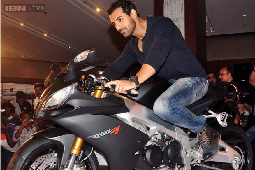 Snapshot: Check out John Abraham's latest mean machine