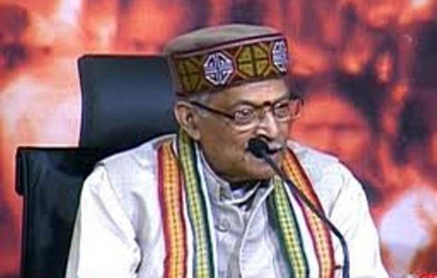 "Joshi accuses the UPA government of ""almost mortgaging"" Indian interests"