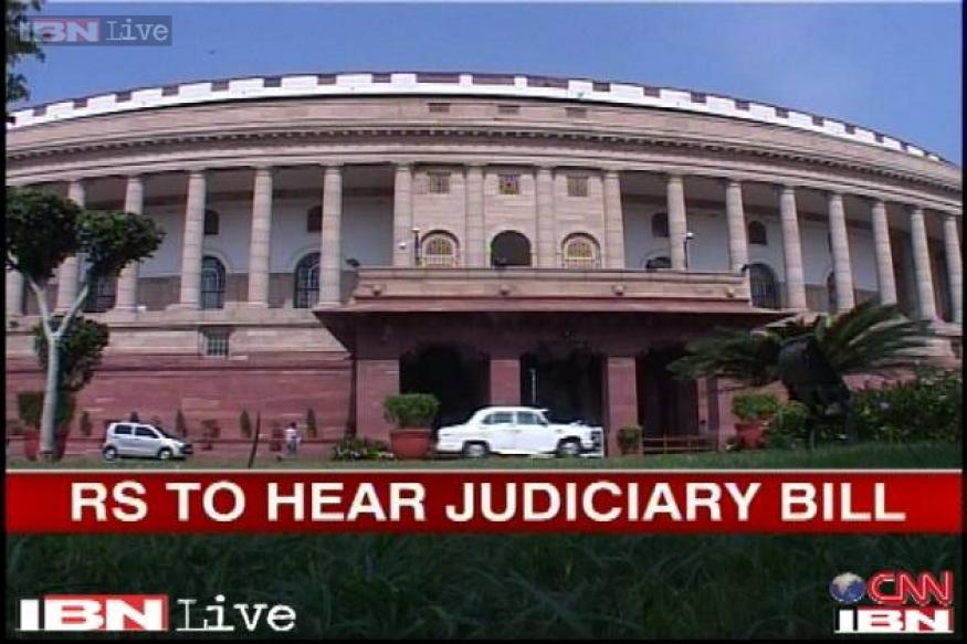 Rajya Sabha is likely to discuss Judges Appointment Bill today