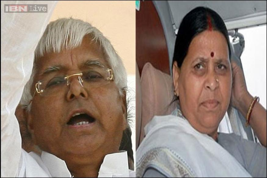 Rabri, her sons to run RJD after Lalu Prasad's conviction in fodder scam